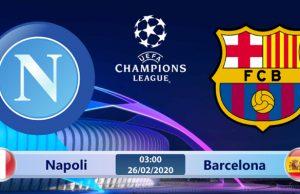 Soi kèo Napoli vs Barcelona 03h00 ngày 26/02: Hàng thủ bất ổn