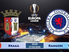 Soi kèo Braga vs Rangers 00h00 ngày 27/02: Bắt buộc phải thắng