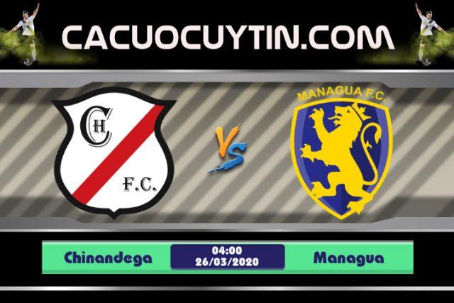 Soi kèo Chinandega vs Managua 04h00 ngày 26/03: Tựa lưng vào sân nhà