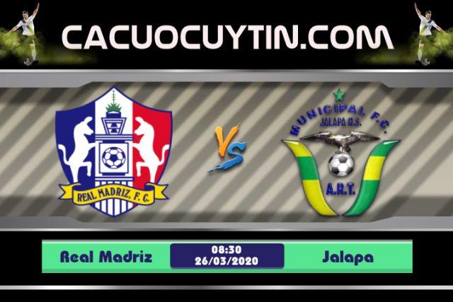 Soi kèo Real Madriz vs Jalapa 08h30 ngày 26/03: Nỗi lo khi xa nhà