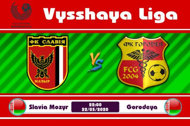 Soi kèo Slavia Mozyr vs Gorodeya 22h00 ngày 22/05: Cơ hội chia đều
