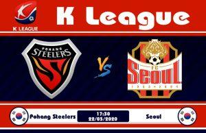 Soi kèo Pohang Steelers vs Seoul 17h30 ngày 22/05: Đối thủ nhẹ ký