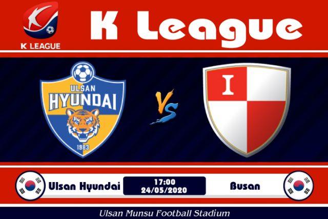 Soi kèo Ulsan Hyundai vs Busan 17h00 ngày 24/05: Nạn kiếp triền miên