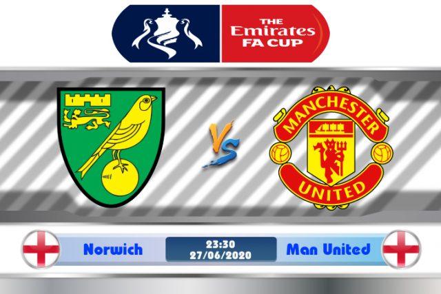 Soi kèo Norwich vs Manchester United 23h30 ngày 27/06: Bóng tối bao trùm