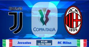 Soi kèo Juventus vs AC Milan 01h45 ngày 13/06: Tổn thất nhân lực