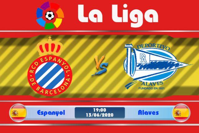 Soi kèo Espanyol vs Alaves 19h00 ngày 13/06: Tựa lưng vào sân nhà