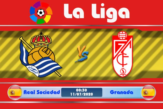Soi kèo Real Sociedad vs Granada 00h30 ngày 11/07: Quá khứ đeo bám
