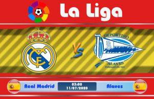 Soi kèo Real Madrid vs Alaves 03h00 ngày 11/07: Con mồi của Kền Kền