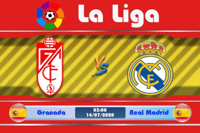 Soi kèo Granada vs Real Madrid 03h00 ngày 14/07: Đối thủ ưa thích