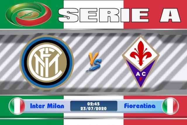 Soi kèo Inter Milan vs Fiorentina 02h45 ngày 23/07: Áp lực từ Rossoneri