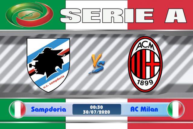 Soi kèo Sampdoria vs AC Milan 00h30 ngày 30/07: Không được chủ quan
