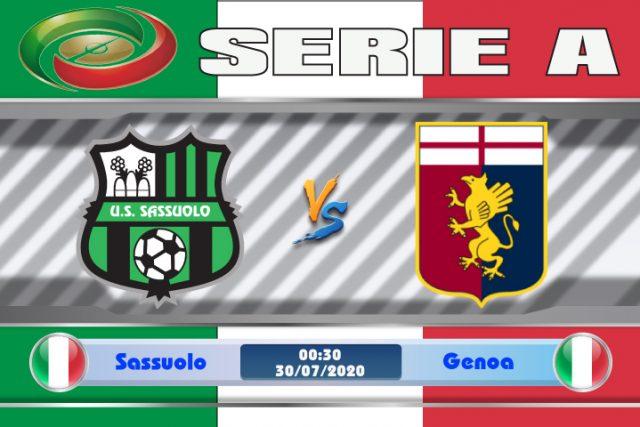Soi kèo Sassuolo vs Genoa 00h30 ngày 30/07: Động lực trụ hạng