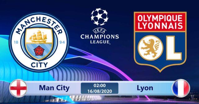Soi kèo Man City vs Lyon 02h00 ngày 16/08: Oan gia ngõ hẹp