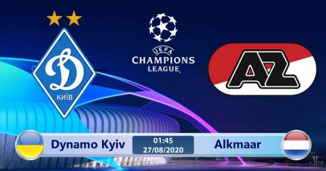 Soi kèo Dynamo Kyiv vs Alkmaar 00h00 ngày 16/09: Trở lại với bản chất