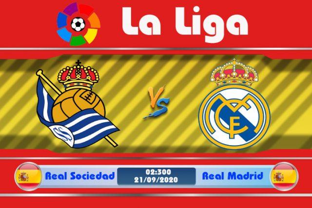 Soi kèo Real Sociedad vs Real Madrid 02h00 ngày 21/09: Uy thế nhà vô địch