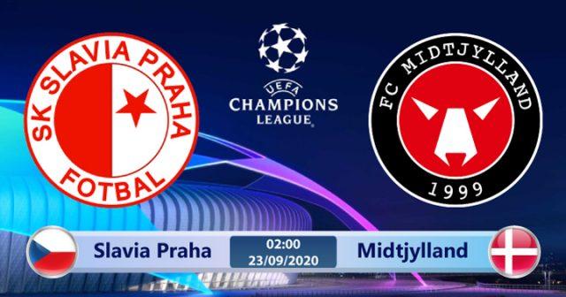 Soi kèo Slavia Praha vs Midtjylland 02h00 ngày 23/09: Chủ nhà thừa sức