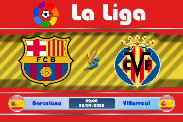 Soi kèo Barcelona vs Villarreal 02h00 ngày 28/09: Đẳng cấp chênh lệch