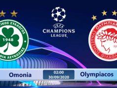 Soi kèo Omonia vs Olympiacos 02h00 ngày 30/09: Không còn gì để mất