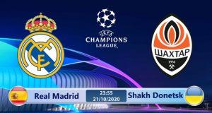Soi kèo Real Madrid vs Shakhtar Donetsk 23h55 ngày 21/10: Lịch sử tái hiện