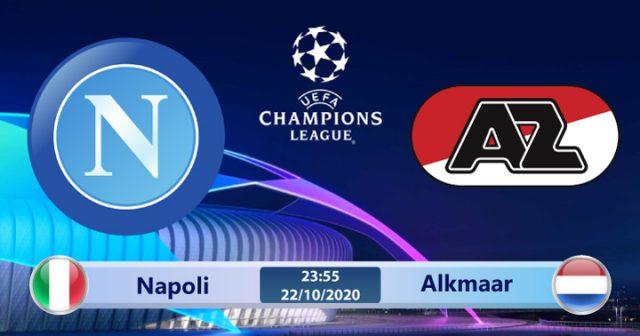 Soi kèo Napoli vs Alkmaar 23h55 ngày 22/10: Tiếp đà thăng hoa