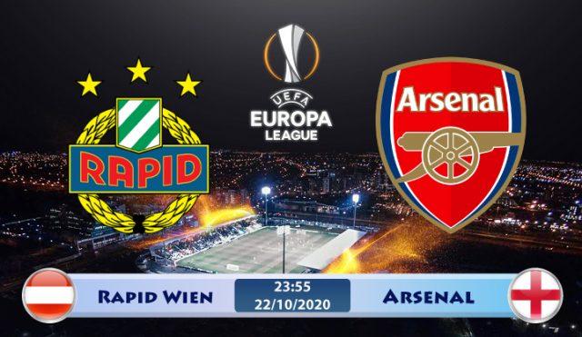 Soi kèo Rapid Wien vs Arsenal 23h55 ngày 22/10: Bước chạy đà hoàn hảo
