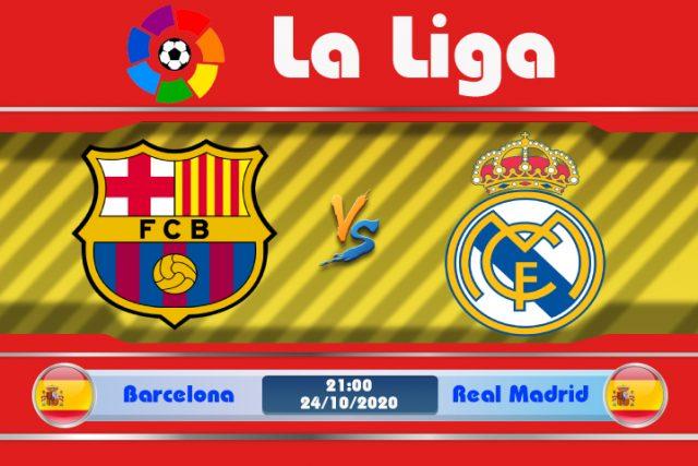 Soi kèo Barcelona vs Real Madrid 21h00 ngày 24/10: Mong chờ kinh điển