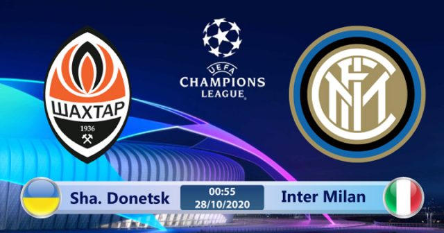 Soi kèo Shakhtar Donetsk vs Inter Milan 00h55 ngày 28/10: Oan gia ngõ hẹp