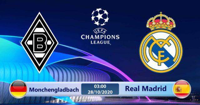 Soi kèo Monchengladbach vs Real Madrid 03h00 ngày 28/10: Đối thủ khó nhai