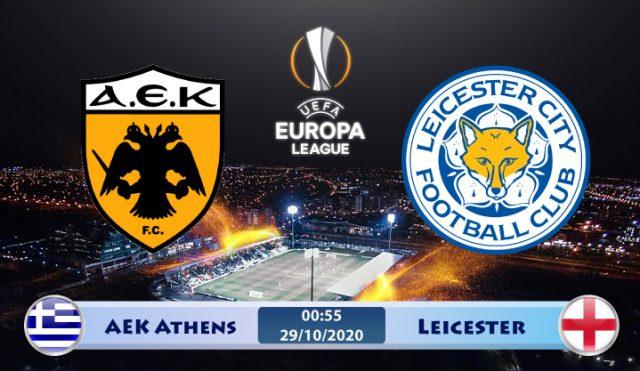 Soi kèo AEK Athens vs Leicester 00h55 ngày 29/10: Bầy Cáo du ngoạn