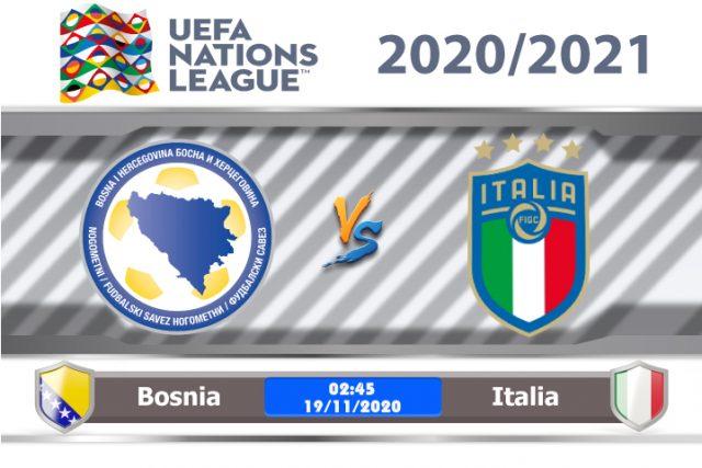 Soi kèo Bosnia vs Italia 02h45 ngày 18/11: Tiến vào play offs