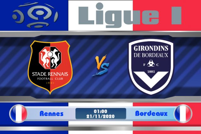 Soi kèo Rennes vs Bordeaux 01h00 ngày 21/11: Cơ hội ghi điểm