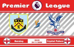 Soi kèo Burnley vs Crystal Palace 00h30 ngày 24/11: Cho đến bao giờ