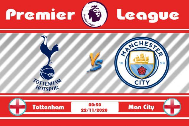 Soi kèo Tottenham vs Man City 00h30 ngày 22/11: Cơ hội ghi điểm