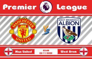 Soi kèo Manchester United vs West Brom 03h00 ngày 22/11: Làm mồi cho Quỷ