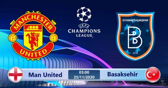 Soi kèo Manchester United vs Basaksehir 03h00 ngày 25/11: Cần một lời giải