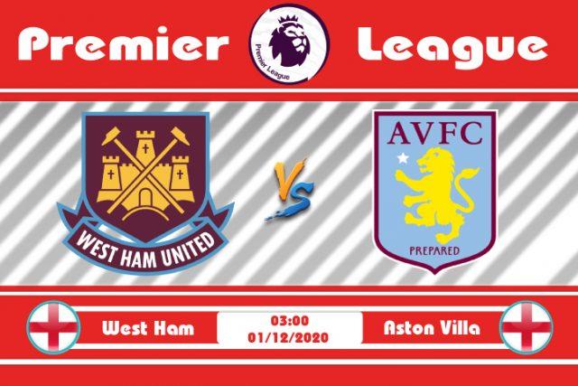 Soi kèo West Ham vs Aston Villa 03h00 ngày 01/12: Thế trận khó lường