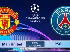 Soi kèo Manchester United vs PSG 03h00 ngày 03/12: Ngày trở về