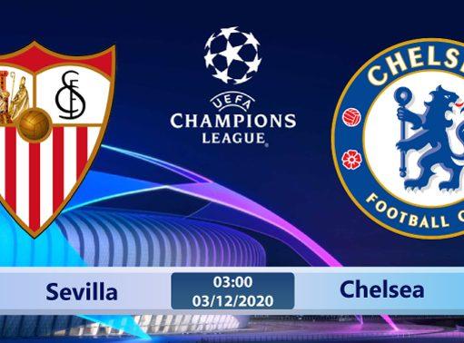 Soi kèo Sevilla vs Chelsea 03h00 ngày 03/12: Định đoạt bảng đấu